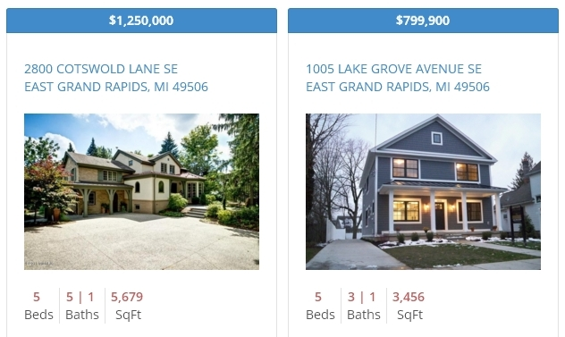 East Grand Rapids Real Estate